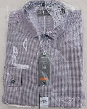M/&S Mens Pure Cotton Slim Fit Oxford Shirt with Pocket X-LARGE DK LILAC