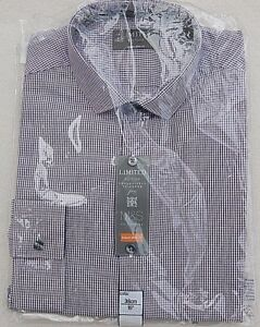 """NEW MENS GENTS LIMITED EDITION CHECKED COTTON SHIRT M&S SIZE 15"""" 38CM COLLAR"""