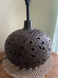 Bohemian Style Metal Lamp Base From World Market