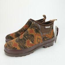 MUK LUKS Women's Libby Ankle Short Rain boots Rain Shoes Waterproof Size 7