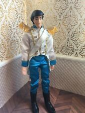 Articulated Wedding Doll Disney Store Prince Eric Little Mermaid Princess