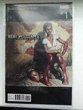 Marvel hip hop variant Invincible Iron Man #1 Riri Williams Missy Elliott *Mint