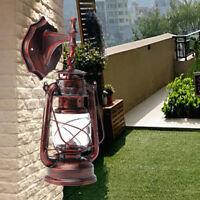 Metal&Glass Wall Vanity Lighting E27 BULB for Hallways Stairwells 240*150mm