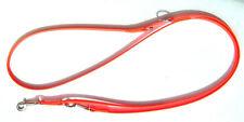 Hundeleine 3fach verstellbare Führleine 13mm breit, 2,00m lang, NEON ORANGE
