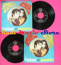 LP 45 7''ANDREA GIORDANA MARISA SOLINAS L'estasi Universo italy CDB*no cd mc vhs