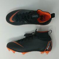 Nike JR Mercurial Superfly 6 Elite FG Soccer Cleats Black SZ ( AH7340-081 ) New