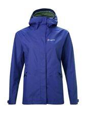 Berghaus Alluvion Womens/Ladies Outdoor  Waterproof Jacket Spectrum Blue 16 BNWT