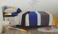 4 pc Pillowfort Sports Twin Quilt and Sheet Set NIP