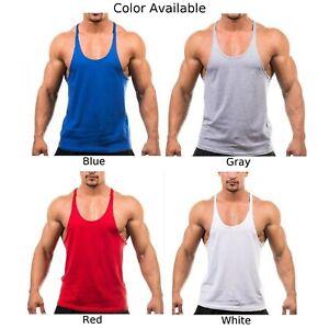 Mens Vest Top Tank Top Vest Sleeveless Gym Top 100% Cotton White/Grey/Black