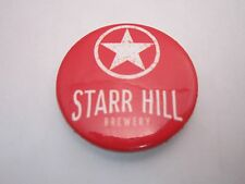 BEER BUTTON Pinback ~ STARR HILL Brewery ~ Crozet, VIRGINIA ** See More in STORE