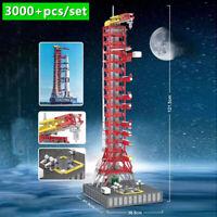 NASA Saturn-V Launch Umbilical Tower MOC-21309 Building Blocks Set Space Bricks