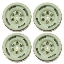 "4 Stück 1.9"" Heavy Duty Felgen Beadlock Wheel Rims für RC Crawler AXIAL SCX10 #3"