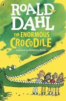 NEW The Enormous Crocodile by Roald Dahl Paperback Book (English) Free Shipping