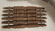 6 x old spindles/spares