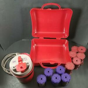 Richard Caruso Molecular Hairsetter 3 Way Traveler Hair Steam Roller Curler Case