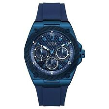 Guess Legacy Quartz Blue Dial Men's Watch W1049G7