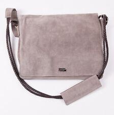5e1c3705e22c NWT  1495 CANALI EXCLUSIVE Beige Suede Leather Shoulder Messenger Bag  Briefcase