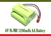 6V Ni-MH 1200mAh AA 5-Cell Battery Pack with JST Plug for RC Toy Car Boat part