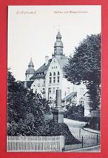 AK GROßRÖHRSDORF in Sa. um 1910 Rathaus und Kriegerdenkmal     ( 26176