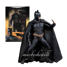 "NECA US Comics Batman Begins Christian Bale Classic 7"" Action Figure Black"