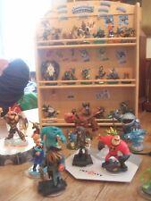 Skylander figuras y Skylander Infinity con estuche de almacenamiento de madera y de Portales