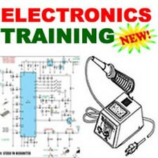 Electronics and Electric Training Course Manuals How-to Train on CD