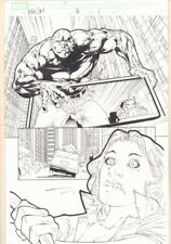 Marvel Knights Spider-Man #16 p.1 - Absorbing Man - 2005 art by Billy Tan Comic Art