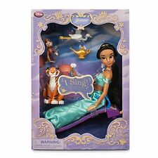 "DISNEY Aladdin  - JASMINE Deluxe Singing  Doll 12"" - New in box"