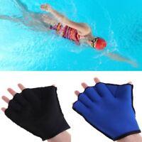 Swimming Diving Surfing Fingerless Gloves Paddle Sports Training Neoprene Webbed