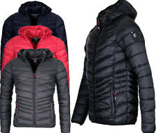 Geographical Norway Herren Herbst Winter Jacke Steppjacke Bomberjacke Parka DAM