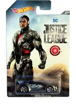 2017 Hot Wheels DC Justice League #6 Quick n' Sik Cyborg