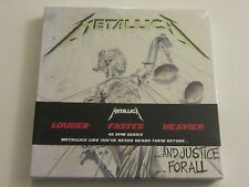 METALLICA And Justice For All 4 LP BOX SET GREEN VINYL rare oop SEALED