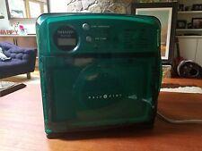 Sharp Half Pint Carousel Microwave Oven Green Model R-120DB. In very good shape!
