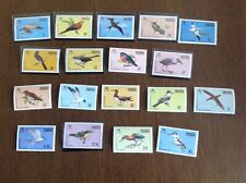 Anguilla 1985 Birds Definitive Set Complete SG 659-675