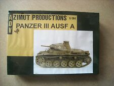 ADV(AZIMUT)-1/35-PANZER III AUSF.A COMPLETE RESIN KIT