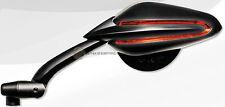 PER YAMAHA XJ6 600 ABS 2013 13 COPPIA SPECCHIETTI RETROVISORE SPECCHIO MOTO NERO