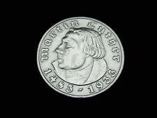 Dt.-Reich, 3. Reich, 5 Reichsmark, 1933 F, M. Luther, J.-352, Silber, orig.,vz.!