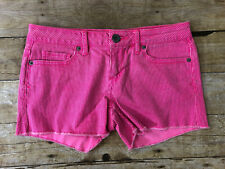 Aeropostale Size 3/4 Juniors / Women's Pink Shorts Good Condition