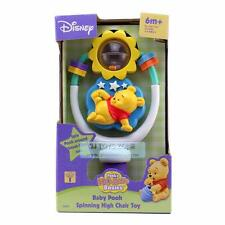 Disney Winnie the Pooh Baby Spinning High Chair Suction Base Rattle Toy 6m+