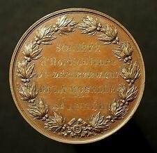 Lothringen, Moselle, Gartenbau Preismedaille 1847, Rousseau, Le Ban-Saint-Martin