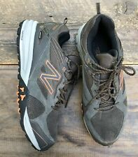 7d01efa8ff8b9 New Balance 989 Hiking Trail Running Shoes 10 Athletic Leather Brown Men's
