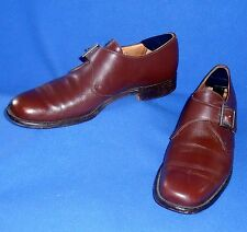 GREAT CHURCHES 9.5 D MENS BROWN MONK CUSTOM GRADE LOAFERS SHOES WESTBURY VINTAGE
