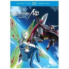 Eureka Seven: AO, Part 2 (Blu-ray/DVD, 2013, 4-Disc Set) NEW Sealed