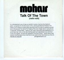 (EA312) Mohair, Talk of the Town - 2007 DJ CD