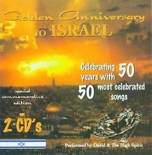 Golden Anniversary to Israel by David & the High Spirit (CD, 1997, Worldwide L1a