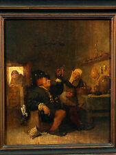 Authentic Flemish Oil on Wood 16/17th Century Painting