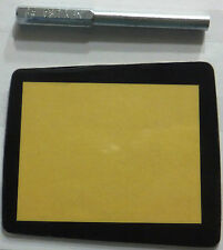 Sega Nomad Replacement Screen Protector (Lens, Cover) +4.5 Security Screw Bit