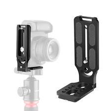 Neewer L Shape Bracket Vertical QR Plate Universal DSLR Camera L Bracket