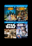 Star Wars Level 1 Young Readers 4 Books Set Collection Escape From Darth Vader..