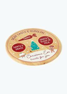 Kids Christmas Eve Board (23cm) Santa plate For xmas eve